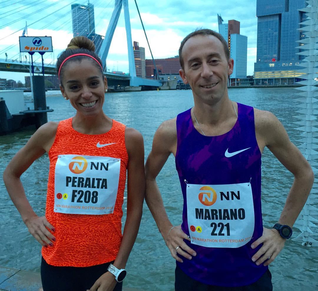 Peralta y Mastromarino en Rotterdam - Locos por correr