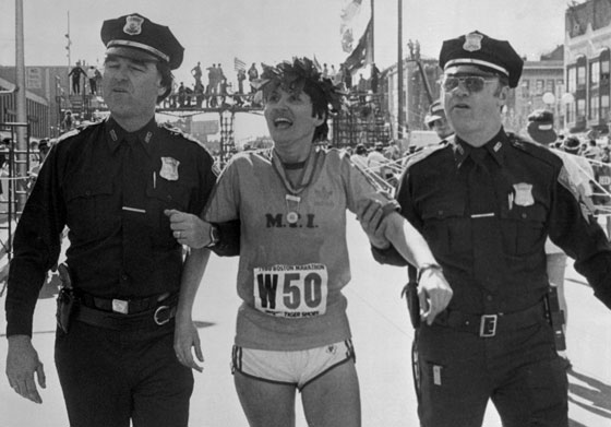 Rosie Ruiz Maraton de Boston Locos por correr