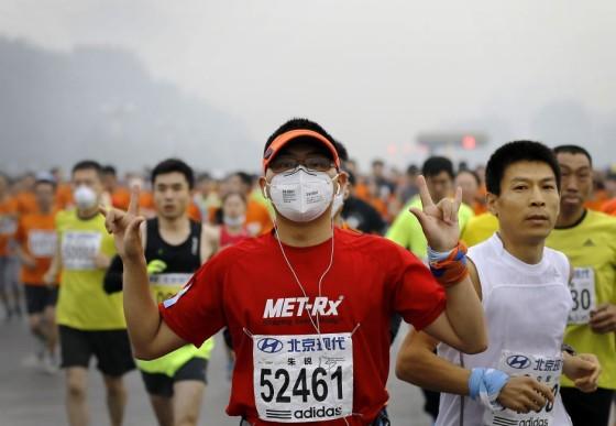 """Correr con contaminación: """"Hoy no circula"""""""