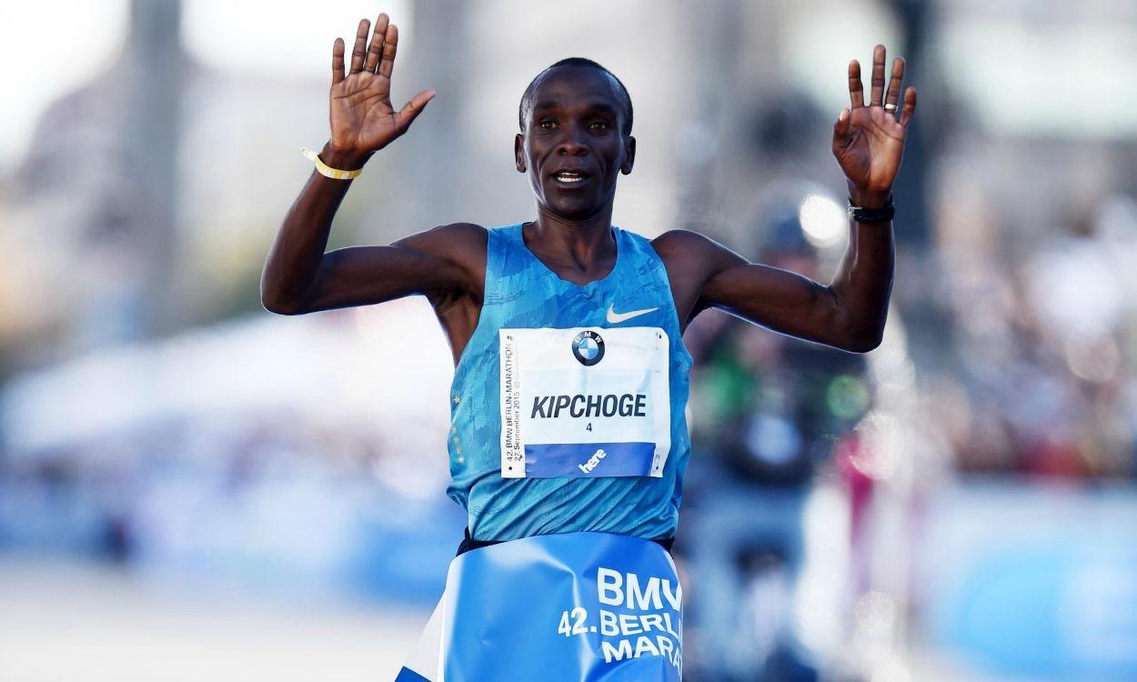 Eliud Kipchoge - representante olímpico de Kenia - Locos por correr