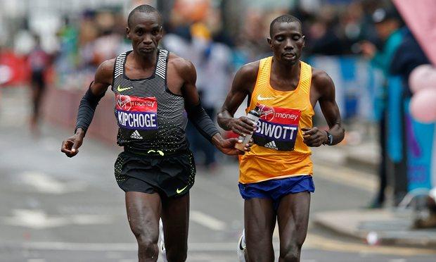 Eliud Kipchoge y Stanley Biwott - Locos por correr
