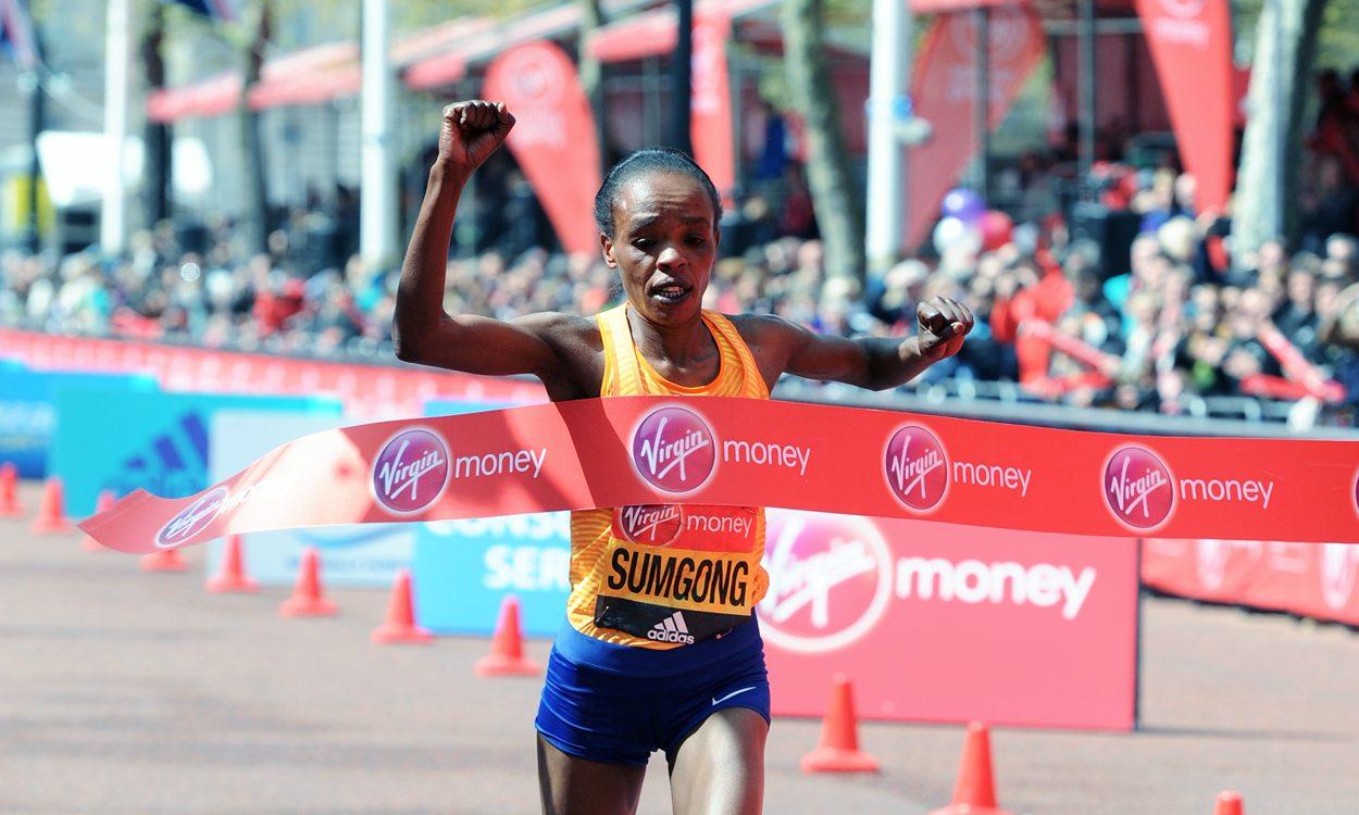 Jemima Sumgong a los Juegos Olímpicos de Rio - Locos por correr
