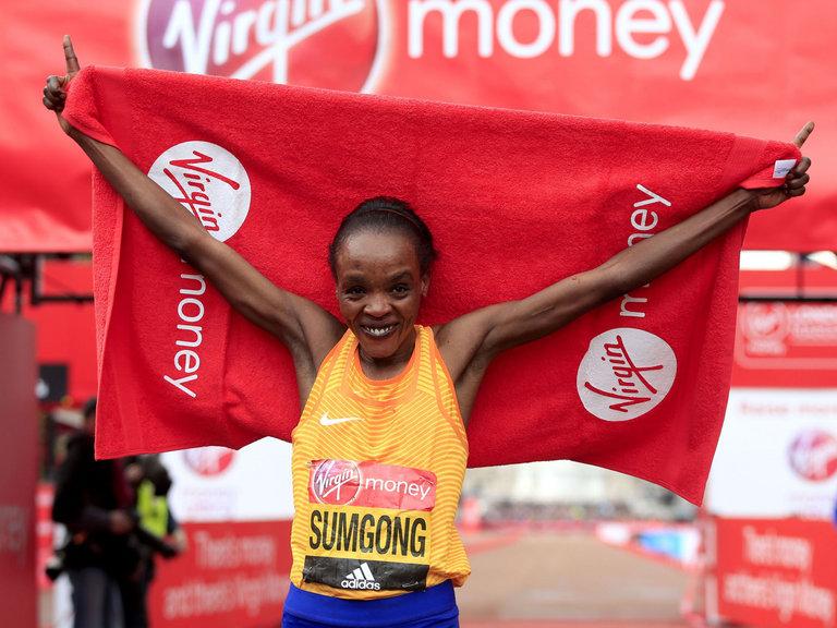 Jemima Sumgong ganadora en Londres 2016 - a Rio  Locos por correr