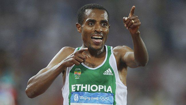 Kenenisa Bekele - Campeón olímpico en Beijing 2008