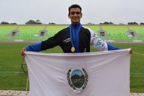 Leandro Paris, el nuevo muchacho de los 800 metros llanos
