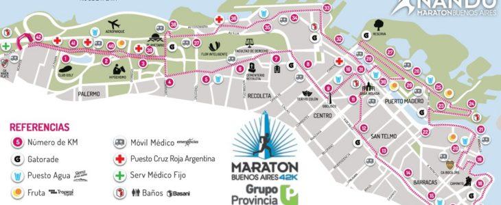 Mapa y calle por calle: este es el nuevo recorrido de la Maratón de Buenos Aires (y otras novedades)