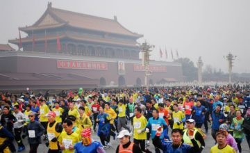 El running, aquí y en China