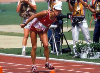 Gabriela Andersen-Schiess y la maratón más dramática