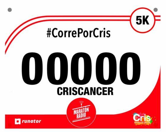 """""""Corre por CRIS"""" – Carrera global por la lucha contra el cáncer."""