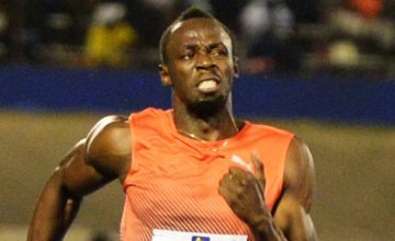 Video: Usain Bolt se afina para Rio