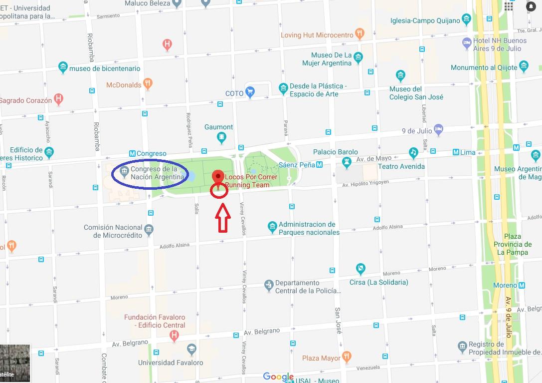 Mapa de ubicación CONGRESO 2