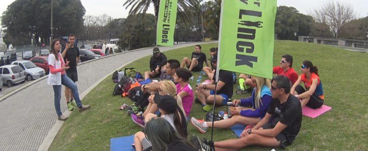 Nuestro running team recibió una charla de nutrición para corredores