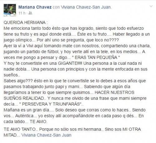 Viviana Chavez olimpica rio 2016maraton entrevista Locos Por Correr 3