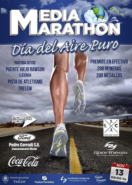 """Entrevista a Matias Schiel: se corre en Chubut la """"Media Maratón Día del Aire Puro"""""""
