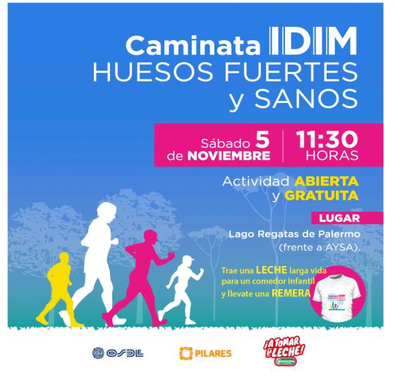 Sábado 5 de Noviembre: caminata IDIM gratuita en Palermo