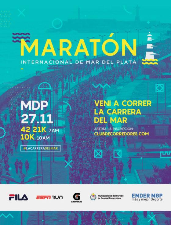"""Entrevista – Guillermo Volponi """"Están abiertas las inscripciones para la maratón de Mar del Plata"""""""
