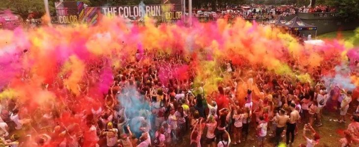 VIDEO: así fue The Color Run Buenos Aires 2016