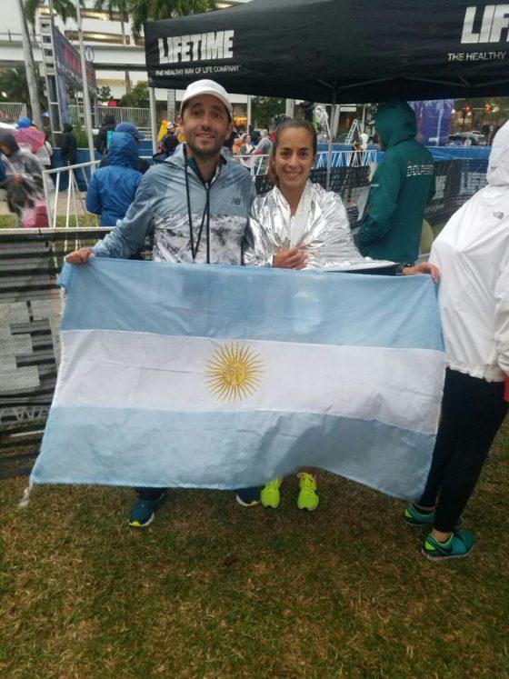 Mariela Ortiz subcampeona en Miami Half Marathon
