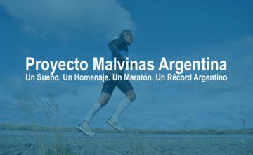 Maratón de Malvinas: el veterano de guerra que vuelve por el récord.