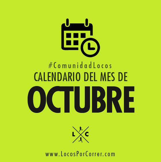 Carreras Octubre 2019