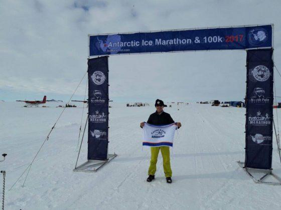 Cristian Gorbea: El argentino que corrió 100 kilómetros en la Antártida