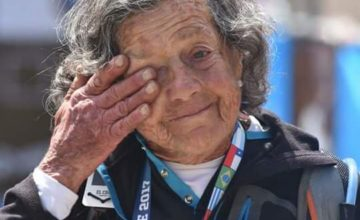Elisa Forti, a los 83, por la cumbre del Aconcagua