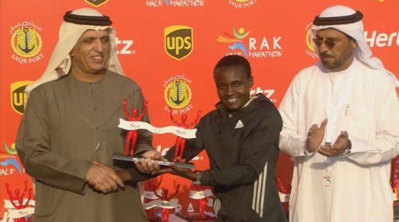 Peres Jepchirchir: nuevo récord mundial en medio maratón femenino