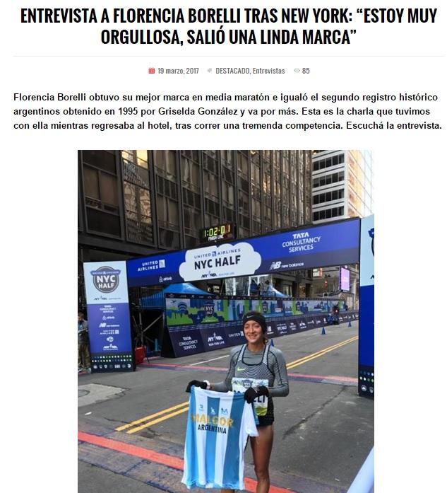 Florencia Borrelli Half New York 01 Locos Por Correr 08