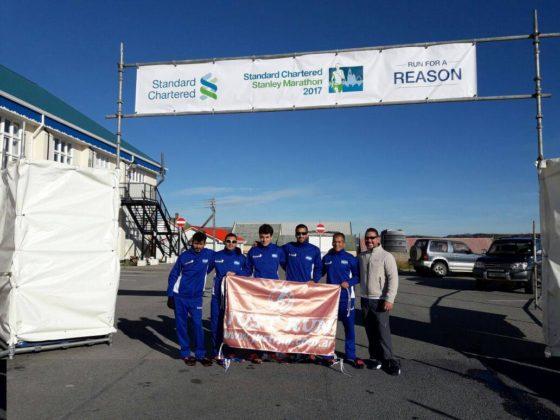 Maratón de Malvinas: los argentinos ganaron todo y son récord