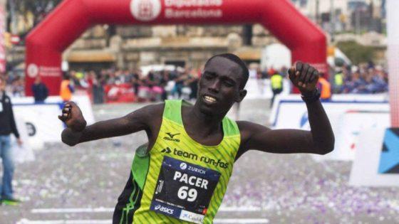 Barcelona: atleta paralímpico era liebre de la maratón y la terminó ganando