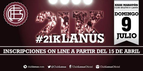 21k Lanús abrió inscripciones: también habrá 10k