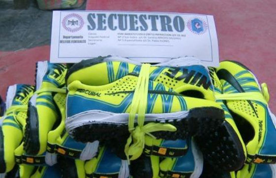 Las falsificaciones de zapatillas más insólitas de la historia