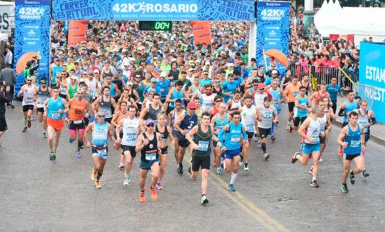 Maratón de Rosario 2017: ganaron Nicolás Ternavasio y Belén Iardino