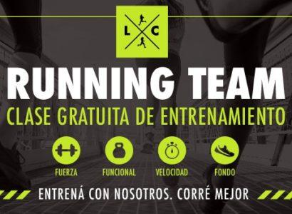 Habrá una clase gratuita de entrenamiento junto al Running Team de Locos Por Correr