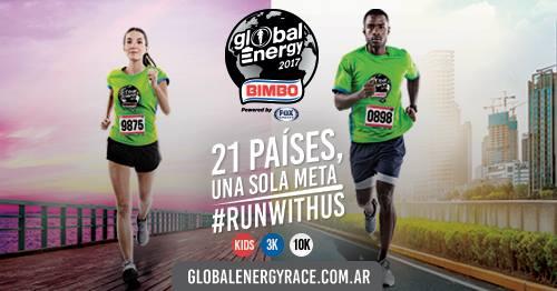 Confirmada la carrera Bimbo Global Energy Race 2017