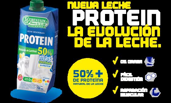 La Serenísima presenta Protein, su nueva leche funcional