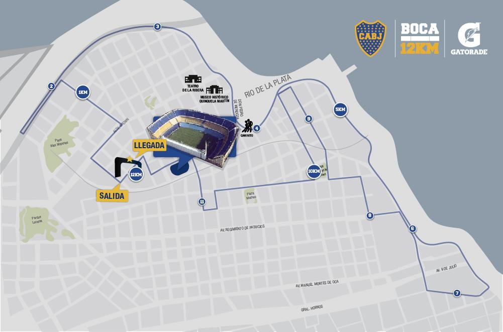 12k Boca juniors 2017 fecha inscripciones fotos resultados Locos Por Correr 07