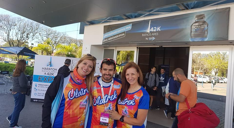 olatrek - Pedro Luis Gomez - Expo Maraton