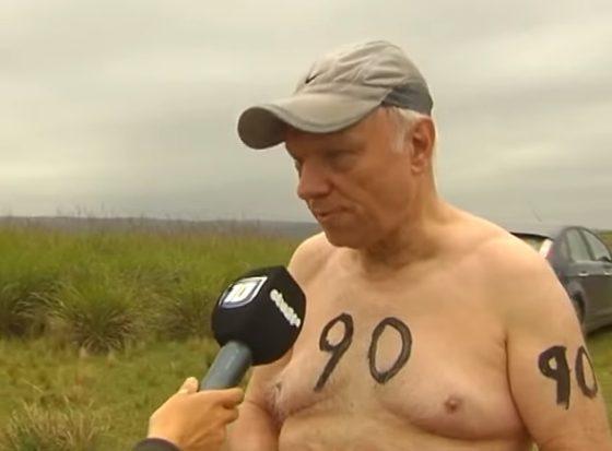 Entrevista: carrera nudista en Córdoba… querés participar?