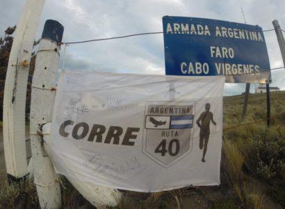 Corrió desde La Quiaca a Ushuaia: se vienen documental y el libro