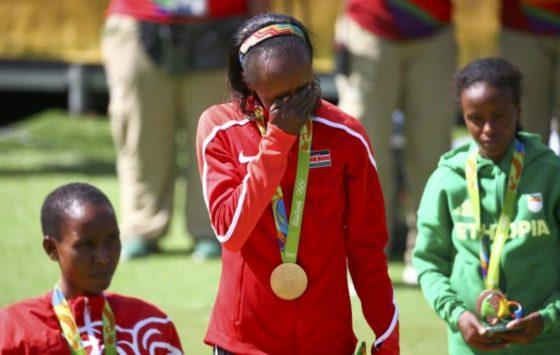 La última campeona olímpica de maratón, suspendida 4 años por doping