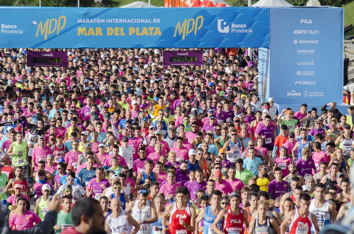 Maraton de Mar del Plata 2017 resultados fotos Locos Por Correr 01