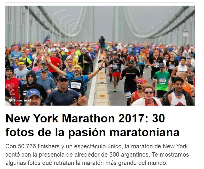 New York Marathon 2017 30 Fotos Locos Por Correr 02