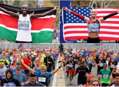 Maratón de New York 2017: la gloria para Flanagan y Kamworor
