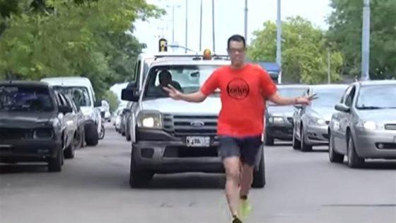 """Entrevista: """"Corrí 44 kilómetros por el ARA San Juan"""""""