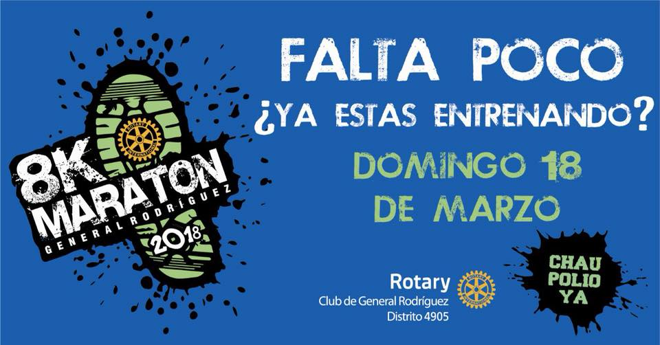 8K Rotary General Rodriguez 2018 Precio fecha inscripciones fotos resultados Locos Por Correr 01