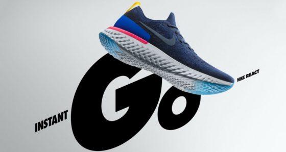 Ya están a la venta las nuevas Nike Epic React