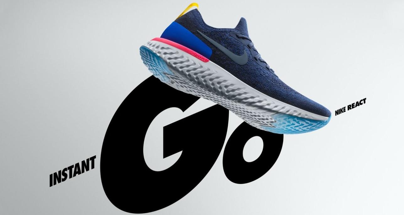 7884fc739 Ya están a la venta las nuevas Nike Epic React