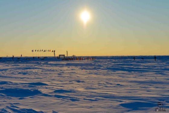 Un argentino en la Maratón del Polo Norte.
