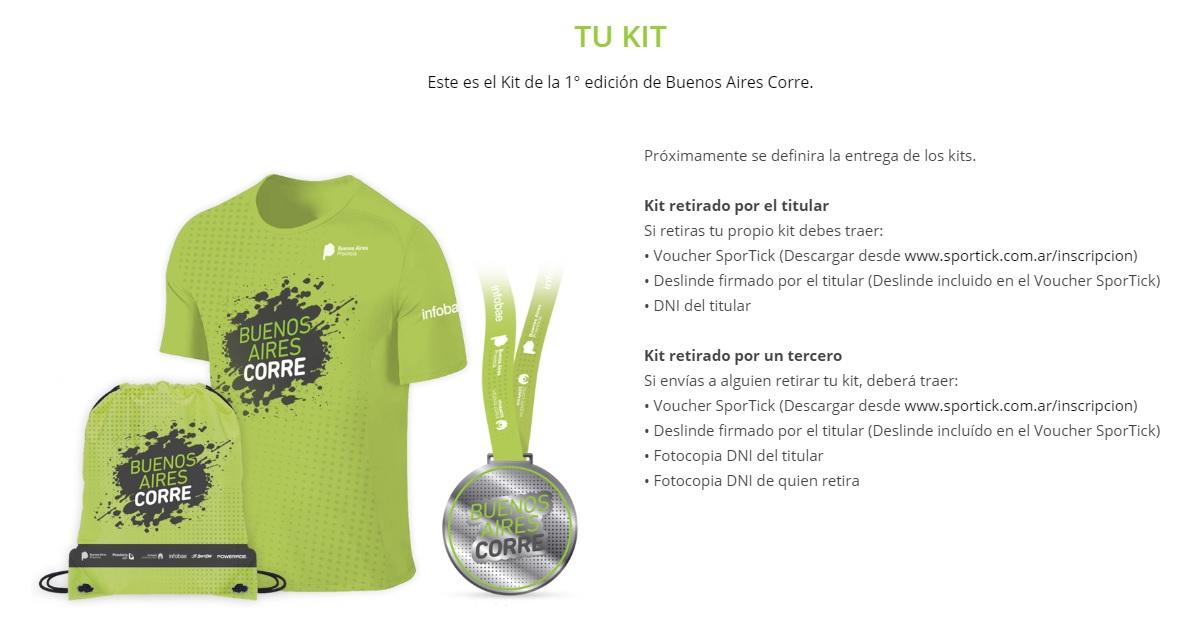 21k Buenos Aires Corre Locos Por Correr kit 02